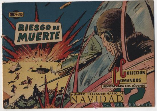 COMANDOS Nº 47. EXTRAORDINARIO DE NAVIDAD. SIN ABRIR (Tebeos y Cómics - Tebeos Extras)