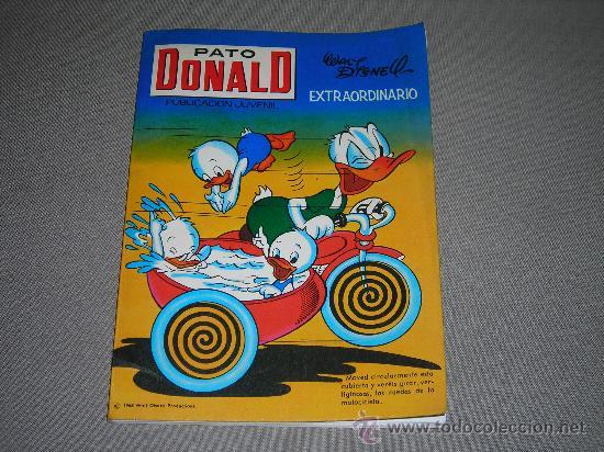 (M-3) PATO DONALD EXTRAORDINARIO 1968, EDT RECREATIVAS, POCAS SEÑALES DE USO (Tebeos y Cómics - Tebeos Extras)