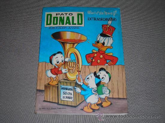 (M-3) PATO DONALD EXTRAORDINARIO 1970, EDT RECREATIVAS, POCAS SEÑALES DE USO (Tebeos y Cómics - Tebeos Extras)