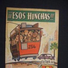 Tebeos: EXTRA DE EL DDT - ESOS HINCHAS - EDIT. BRUGUERA - 1961 - ORIGINAL - -. Lote 28102644