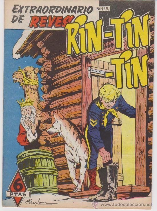 RIN TIN TIN Nº 128. MARCO. EXTRAORDINARIO DE REYES. (Tebeos y Cómics - Tebeos Extras)