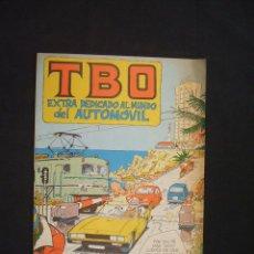Tebeos: TBO EXTRA - DEDICADO AL MUNDO DEL AUTOMOVIL - . Lote 28270214