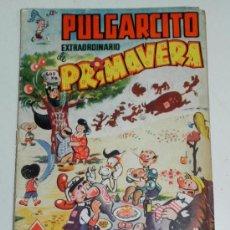 Tebeos: PULGARCITO EXTRAORDINARIO DE PRIMAVERA - AÑO 1950 - 2,50 PTAS - EDITORIAL BRUGUERA, ORIGINAL RARISI. Lote 28758428