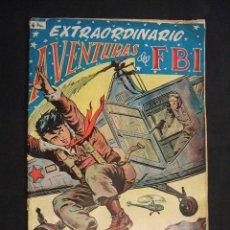 Tebeos: AVENTURAS DEL FBI - EXTRAORDINARIO - Nº 2 - TERROR EN EL FBI - EDIT. ROLLAN -. Lote 28776226