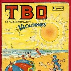 Tebeos: TBO , EXTRAORDINARIO DE VACACIONES , ORIGINAL , E20. Lote 28858469