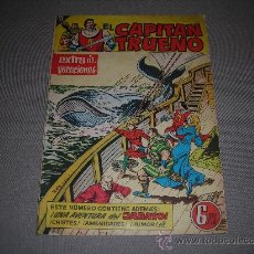 Tebeos: (M-1) EL CAPITAN TRUENO EXTRA DE VACACIONES 1959 - SEÑALES DE USO . Lote 29062600