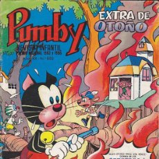 Tebeos: COMIC PUMBY EXTRA OTOÑO 1974. Lote 29695732