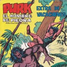 Tebeos: COMIC PURK HOMBRE DE PIEDRA EXTRA VACACIONES 1974. Lote 29889093