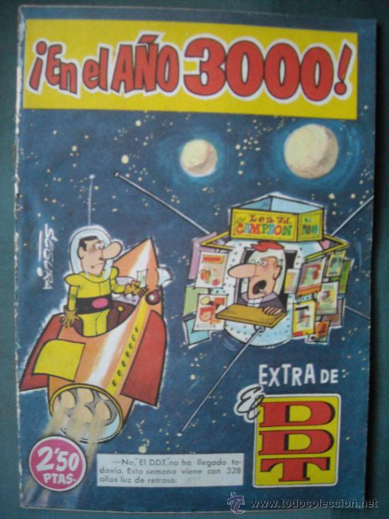 EXTRA DE EL DDT, EN EL AÑO 3000, AÑO 1961. (Tebeos y Cómics - Tebeos Extras)