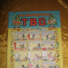 Tebeos: ALMANAQUE TBO EXTRA NAVIDAD 1952 : EL HAMBRE *. Lote 72238557
