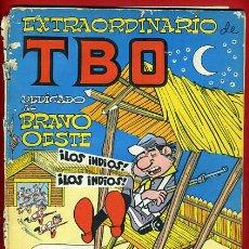 Tebeos: EXTRAORDINARIO TBO , DEDICADO BRAVO OESTE , ORIGINAL , B43. Lote 36833170