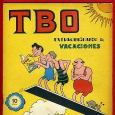 Tebeos: EXTRAORDINARIO TBO , VACACIONES , ORIGINAL , B44. Lote 36833186