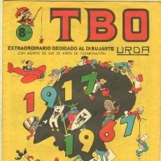 Tebeos: TBO EXTRAORDINARIO DEDICADO AL DIBUJANTE URDA - 50 AÑOS 1917 - 1967. Lote 37917028
