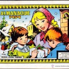 Tebeos: TEBEOS-COMICS GOYO - AZUCENA - Nº ALMANAQUE 1959 - EXTRAORDINARIO - 1958 - *AA99. Lote 58494665