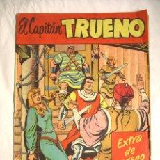 Tebeos: ALMANAQUE EXTRA DE VERANO CAPITAN TRUENO EDITORIAL BRUGUERA AÑO 58. Lote 40946925