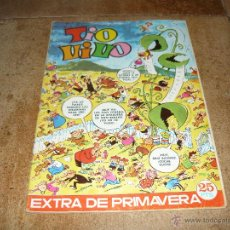 Tebeos: TIO VIVO EXTRA PRIMAVERA 1973. BRUGUERA 25 PTS. DIFÍCIL!!! B.E.. Lote 45726630