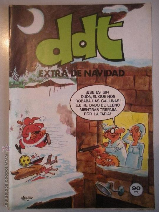 - MAGNIFICO - EXTRA DE NAVIDAD - DE - DDT - (Tebeos y Cómics - Tebeos Extras)