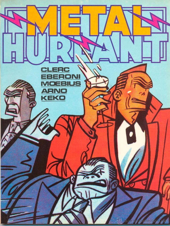 METAL HURLANT Nº 36 Y 37 Y EXTRA 1985 (Tebeos y Cómics - Tebeos Extras)