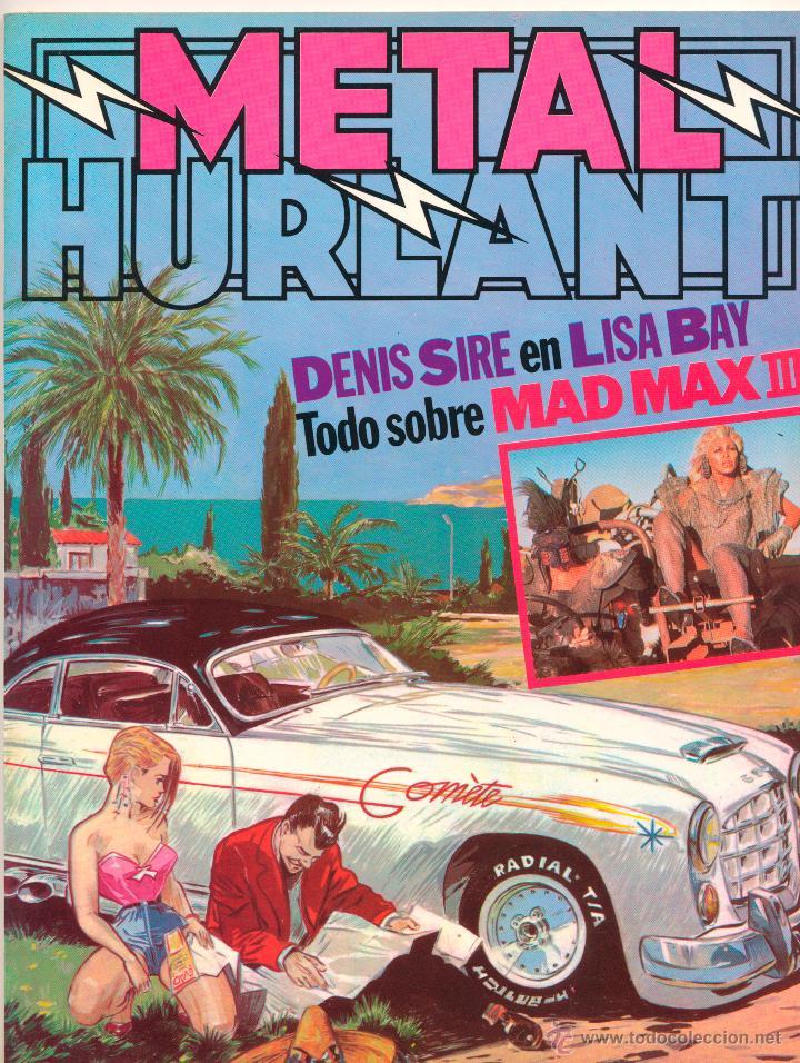Tebeos: Metal Hurlant nº 36 y 37 y extra 1985 - Foto 2 - 47205479