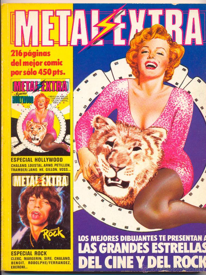 Tebeos: Metal Hurlant nº 36 y 37 y extra 1985 - Foto 3 - 47205479