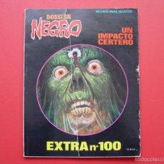 Tebeos: CÓMIC DOSSIER NEGRO (EXTRA Nº 100, 1977) ORIGINAL ¡COLECCIONISTA!. Lote 56540326