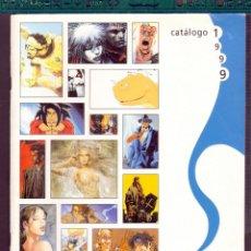 Tebeos: TEBEOS-COMICS CANDY - CATALOGO - NORMA EDITORIAL - 1999 - ILUSTRADO - RARO *AA98. Lote 56576882