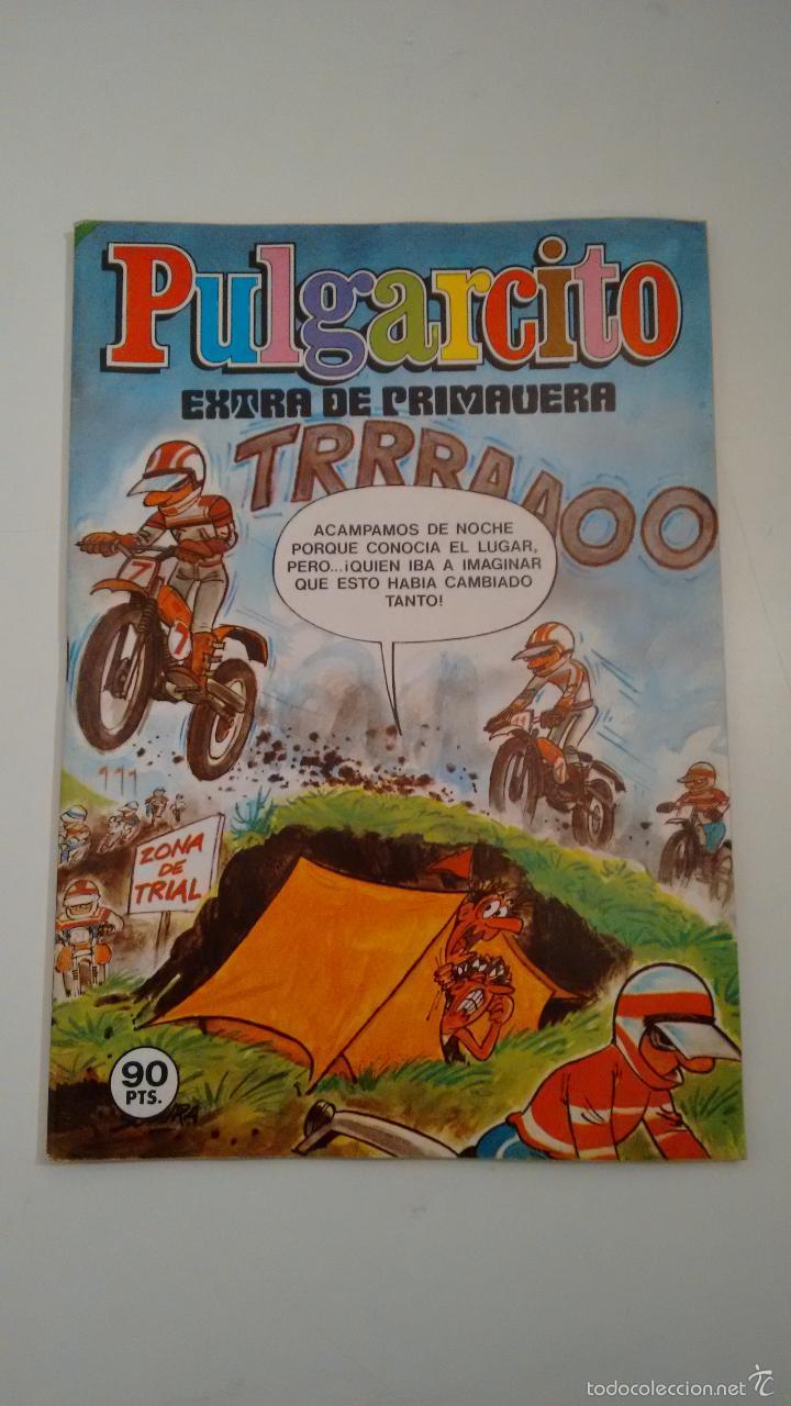 PULGARCITO EXTRA DE PRIMAVERA 1982. BRUGUERA 1982 (Tebeos y Cómics - Tebeos Extras)