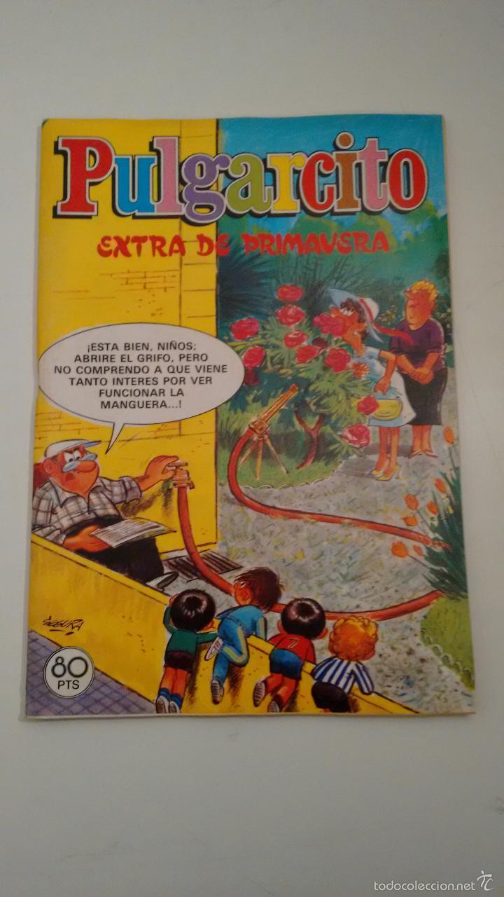 PULGARCITO EXTRA DE PRIMAVERA 1981. BRUGUERA 1981 (Tebeos y Cómics - Tebeos Extras)