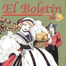 Tebeos: EL BOLETÍN, Nº 50 ESPECIAL EL TEBEO FEMENINO EN ESPAÑA. Lote 58536258