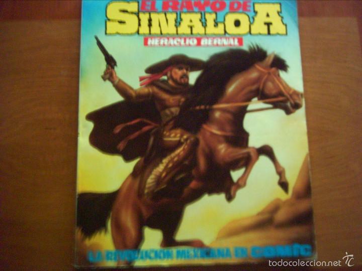 HERACLIO BERNAL. EL RAYO DE SINAOLA. AMAIKA. (Tebeos y Cómics - Tebeos Extras)