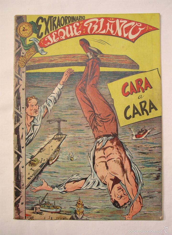 JEQUE BLANCO EXTRAORDINARIO Nº 1, CARA A CARA, ORIGINAL (Tebeos y Cómics - Tebeos Extras)