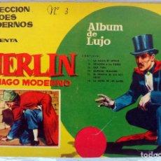 Tebeos: ALBUM DE LUJO , MAGO MERLIN , Nº 3 , COLECCION HEROES MODERNOS ,ORIGINAL ,J. Lote 65258075