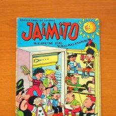 Tebeos: JAIMITO - ALBUM DE VACACIONES 1967 - EDITORIAL VALENCIANA. Lote 79104537