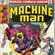 Livros de Banda Desenhada: MARVEL COMICS - MACHINE MAN NUMERO 19. Lote 79313513