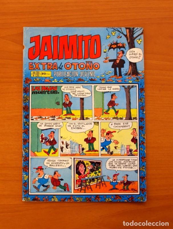 JAIMITO, Nº 1295 - EDITORIAL VALENCIANA 1945 - EXTRA DE OTOÑO (Tebeos y Cómics - Tebeos Extras)