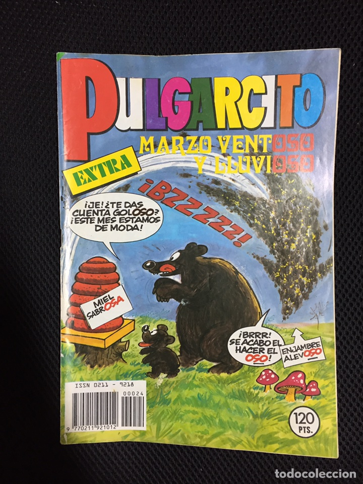 PULGARCITO EXTRA MARZO VENTOSO (Tebeos y Cómics - Tebeos Extras)