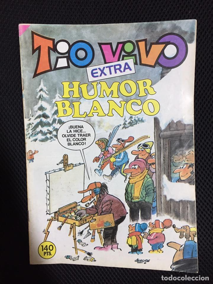 TIO VIVO EXTRA HUMOR BLANCO (Tebeos y Cómics - Tebeos Extras)
