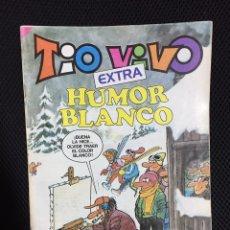 Tebeos: TIO VIVO EXTRA HUMOR BLANCO. Lote 80199851