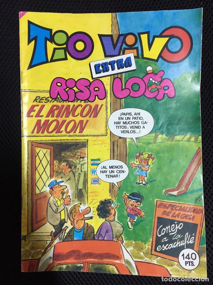 TIO VIVO EXTRA RISA LOCA (Tebeos y Cómics - Tebeos Extras)