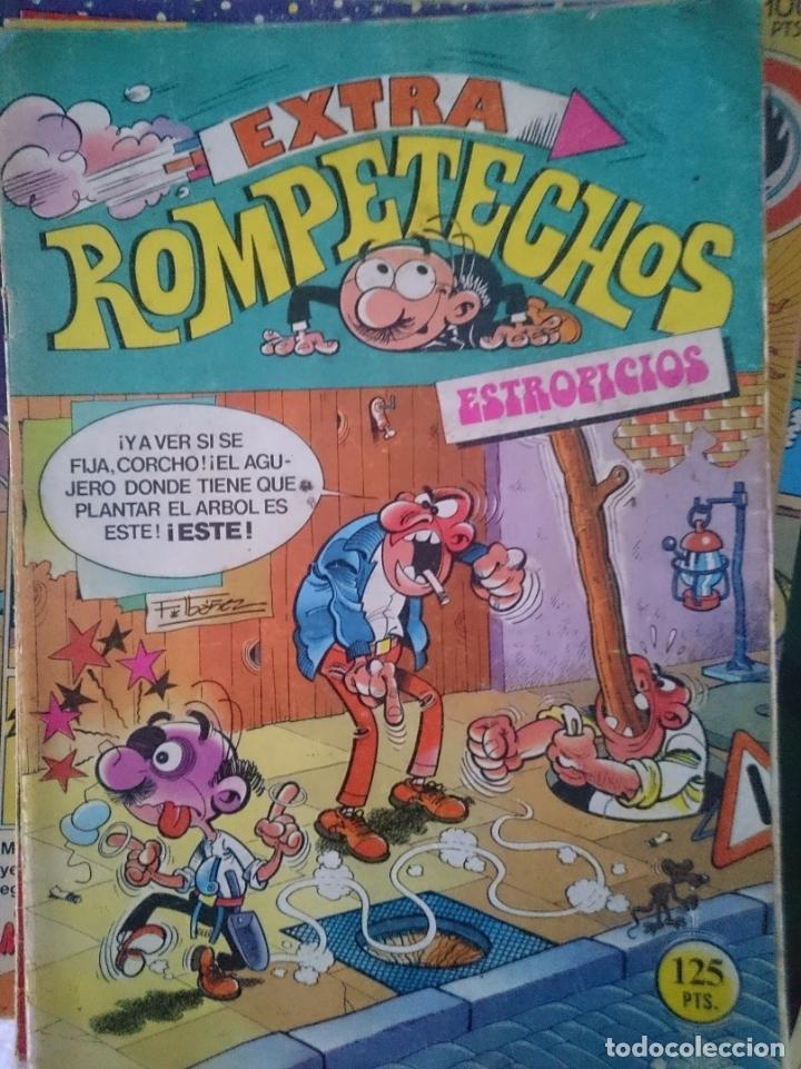 TEBEO EXTRA - ROMPETECHOS - ESTROPICIOS -REFM1E5BODE (Tebeos y Cómics - Tebeos Extras)