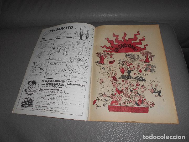 Tebeos: PULGARCITO EXTRA DE VACACIONES 1964 EDT. BRUGUERA S.A. 26,5X18,5 CM - Foto 2 - 87779620