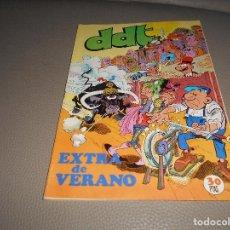 Tebeos: DDT EXTRA DE VERANO 1974, PITAGORAS SLIM, ANACLETO, CEBOLLETA, CARIOCO ETC. Lote 88145048