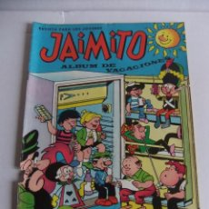 Livros de Banda Desenhada: JAIMITO ALBUM DE VACACIONES 1967 EDITORIAL VALENCIANA. Lote 88948824
