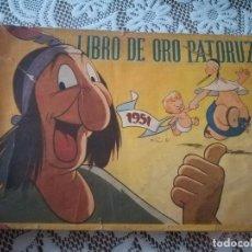 Tebeos: MUY RARO COMIC DE DANTE QUINTERO LIBRO DE ORO PATORUZU 1951 MIREN FOTOS. Lote 92018380