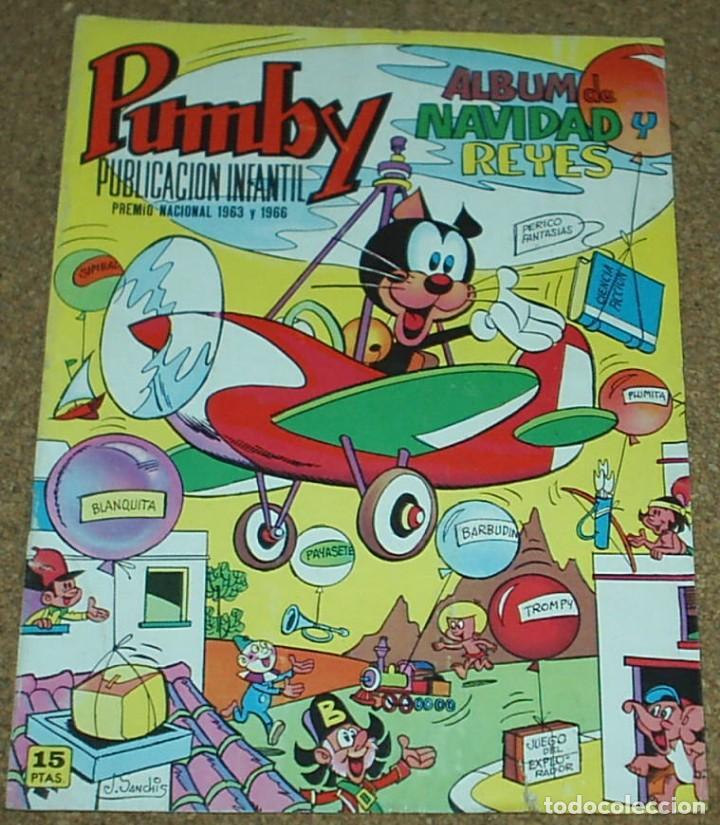 PUMBY ALBUM DE NAVIDAD Y REYES 1972-PERFECTO -IMPORTANTE LEER TODO (Tebeos y Cómics - Tebeos Extras)