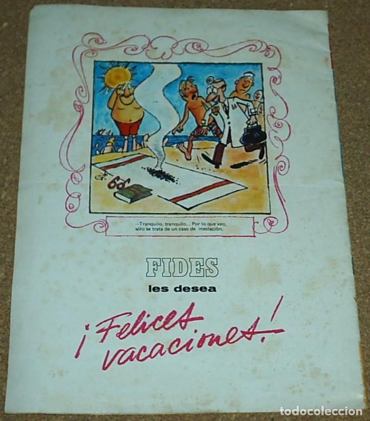 Tebeos: CLUB DEL HUMOR EXTRA DE VERANO Nº 32, 1970 - LABORATORIOS FIDES - BUEN ESTADO-IMPORTANTE LEER DESCRI - Foto 3 - 96392527