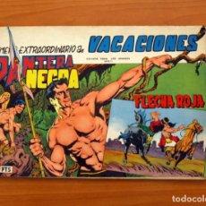 Tebeos: EXTRAORDINARIO DE VACACIONES PANTERA NEGRA Y FLECHA ROJA 1965 - EDITORIAL MAGA. Lote 97655051