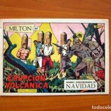 Tebeos: MILTON EL CORSARIO, Nº 123, ERUPCIÓN VOLCANICA - EXTRAORDINARIO DE NAVIDAD - EDITORIAL VALENCIANA . Lote 101594707