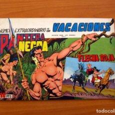 Livros de Banda Desenhada: PANTERA NEGRA Y FLECHA ROJA - EXTRAORDINARIO DE VACACIONES - EDITORIAL MAGA - TAMAÑO 21X31. Lote 101626415