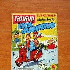 Tebeos: TIO VIVO - EXTRAORDINARIO DEDICADO A LA LOCA JUVENTUD, Nº 112 - EDITORIAL BRUGUERA - TAMAÑO 26X19. Lote 102590115